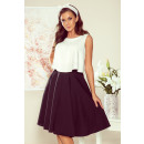wholesale Skirts: 266-2 Flared MIDI skirt with pockets -