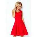 Großhandel Kleider: Rockabilly Pin up Kleid - rot - Taste