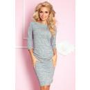 Großhandel Pullover & Sweatshirts: 59-2 Pullover mit Raffung HELLGRAU MELANGE