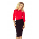 wholesale Skirts: MM 001-1 SKIRT with pleats - BLACK
