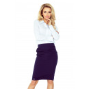wholesale Skirts: MM 001-2 SKIRT with pleats - NAVY BLUE