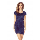 wholesale Jeanswear: MM 010-2 Dress with a flap and two buttons - JEANS