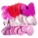 wholesale Gifts & Stationery: Foam, adhesive, Hearts, 50 / cs