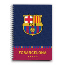 FC Barcelona ordinateurs portables, spirale / 6 pa