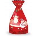 Borsa, 30x15cm, campioni multipli di Babbo Natale