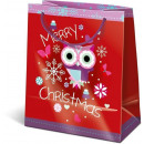 Navidad bolsas de regalo 14,5x12,5x7,5cm GSXS niev