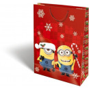 sacs-cadeaux de Noël 38x28x12cm GSXL Minions Ca