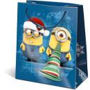 sacchetti regalo di Natale 14,5x12,5x7,5cm GSXS MI