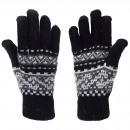 Gloves Norwegian Pattern Finger Knitted Pattern An