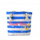 Shopper Beach Vibes Vintage Strand Sommer Tasche
