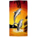 wholesale Towels: Beach towel coton Beach towel Palm animals H