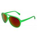 wholesale Mirrors: Sunglasses Neon Bright Mirrored Fun Glasses