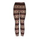 Leggins Patterned Women's Trousers Winterly