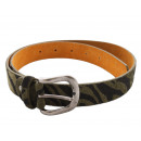 wholesale Belts: Ladies Belt Zebra Fellops Animal Print ...