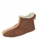 Suede slipper