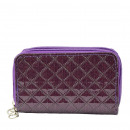 Wallet Ladies Purse Purple Wallet