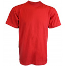 Großhandel Shirts & Tops: T-Shirt Uni Herren Einfarbig Basic Baumwolle