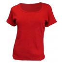 """damska T-Shirt Bawełniana bawełna """"Uni"""" Basic Teen"""