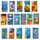 Action assortment: 12 Beach Towelscoton with ve