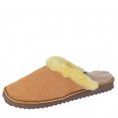 Ladies Slipper Shoes Sheep Lambskin EVA sole Led