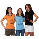 Großhandel Fashion & Accessoires: Damen T-Shirt Hamburg Wappen Silhouette Baumwoll