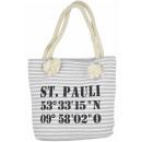 Großhandel sonstige Taschen: Aktionssortiment: 20 XS Shopper St. Pauli Tasche