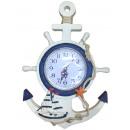 Reloj de marinero de la costa del reloj del volant