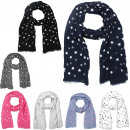 Action assortment: 50 cotton scarfs long scarf Mar