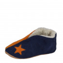 Kids suede slipper