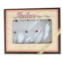 wholesale Rings: Rings Set of 12 Silver Costume Jewelery Pebbles