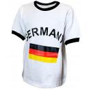 Kinder T-Shirt Deutschland Fanshirt WM Fußball B