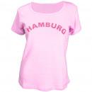 Großhandel Shirts & Tops: Damen T-Shirt Hamburg Teens Baumwolle