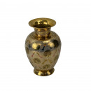 Brass vase Oriental vessel decoration