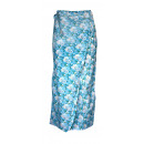 wholesale Skirts: Wrap skirt ladies floral pattern coton Beach