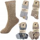 Assortimento 60 paia di calze in alpaca