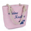 XS Shopper kleine Krabbe Tasche Maritim Streifen