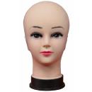 Großhandel Kopfbedeckung: Modellkopf Frau Display Gesicht Mütze Aussteller