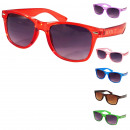 wholesale Sunglasses: Action assortment: 12 sunglasses Monochrome Trans
