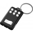 Keychain Flip & Click LED- black white