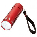 Flashlight with 9 led red