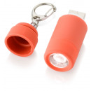 wholesale USB-Accessories: Keychain with USB light - red