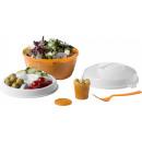 Salad bowl Caesar orange
