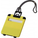 Großhandel Taschen & Reiseartikel: Gepäckanhänger Taggy hellgelb