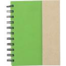 nagyker Ajándékok és papíráruk:Notebook all-in-one zöld