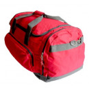 Sports bag polyester , red