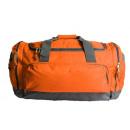 grossiste Fournitures scolaires: Sac de sport polyester , orange