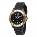 wholesale Jewelry & Watches: Wristwatch Lolliclock black gold colored