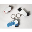 wholesale Consumer Electronics: Keychain screen cleaner and holder