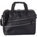 wholesale Computer & Telecommunications: polyester (600D / twill) laptop bag black