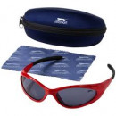 wholesale Sunglasses: Sunglasses  Slazenger Ryde red with black